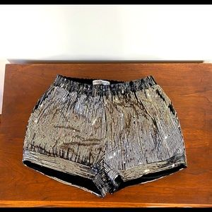 Sequin shorts!